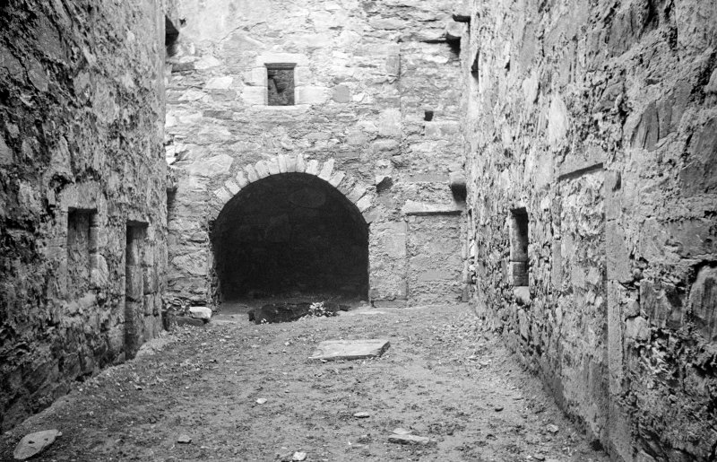 Castle Lachlan. Interior. View from NE.