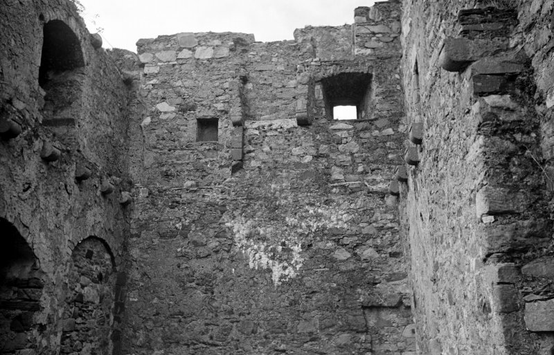 Castle Lachlan. Interior. View of second floor S portion.