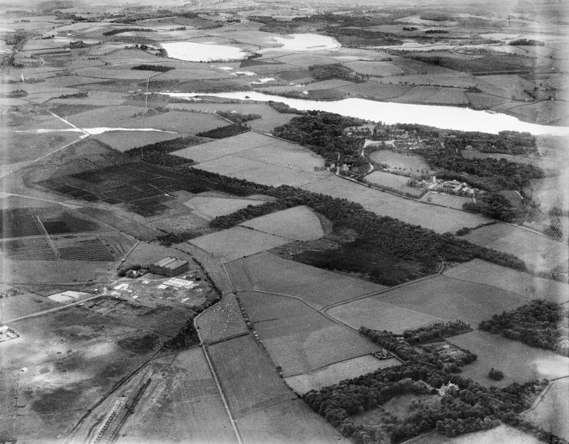 General view, Garnkirk, Cadder, Lanarkshire, Scotland, 1937. Oblique aerial photograph, taken facing south-east.