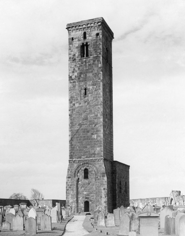 General view of St Rules Tower from North West.