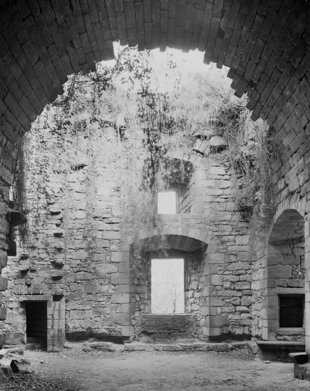 Craignethan Castle. Interior. General view.