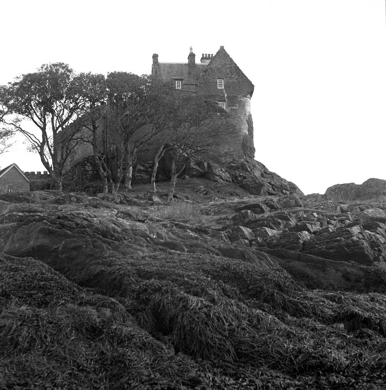 Duntrune Castle. View from South.