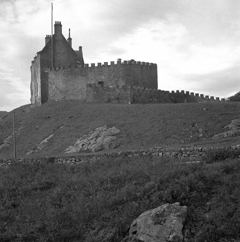 Duntrune Castle. View from East.