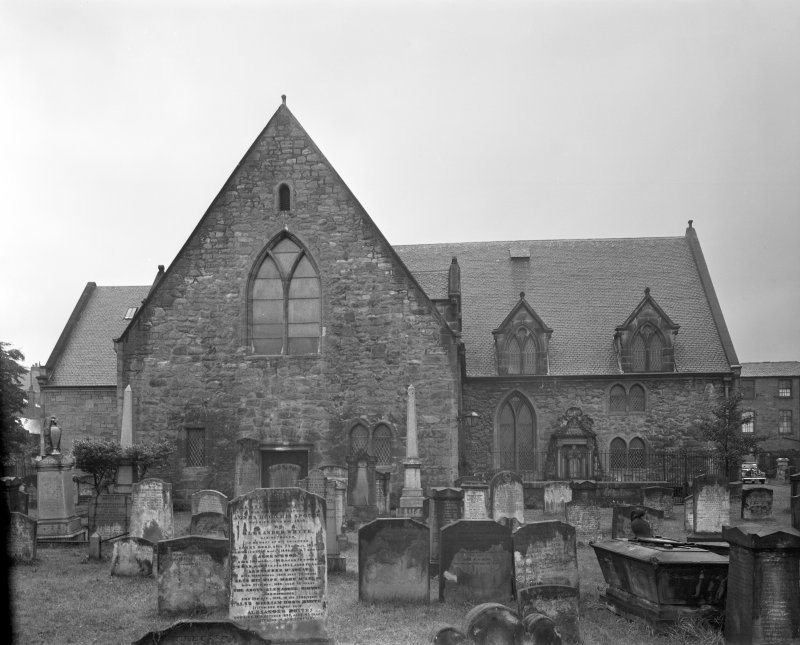Ayr Old Parish Church. View from East.