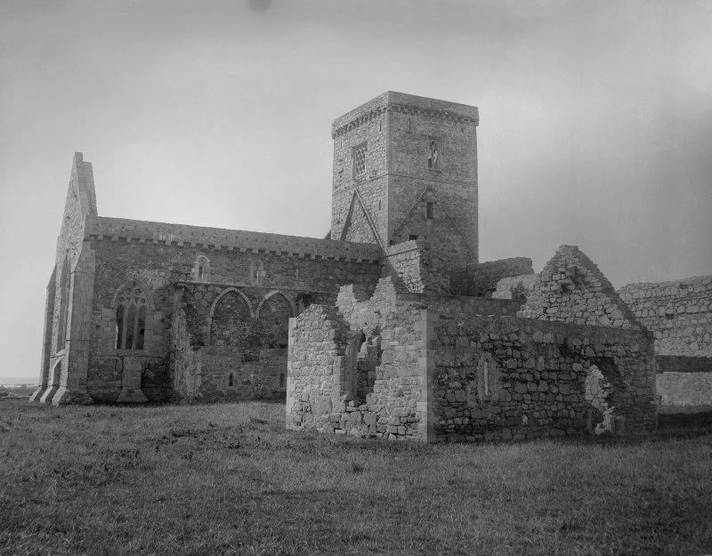 View of Iona Abbey from the South-West.