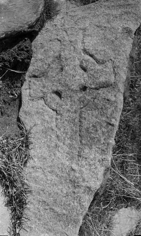 Iona. Incised cross slab L7