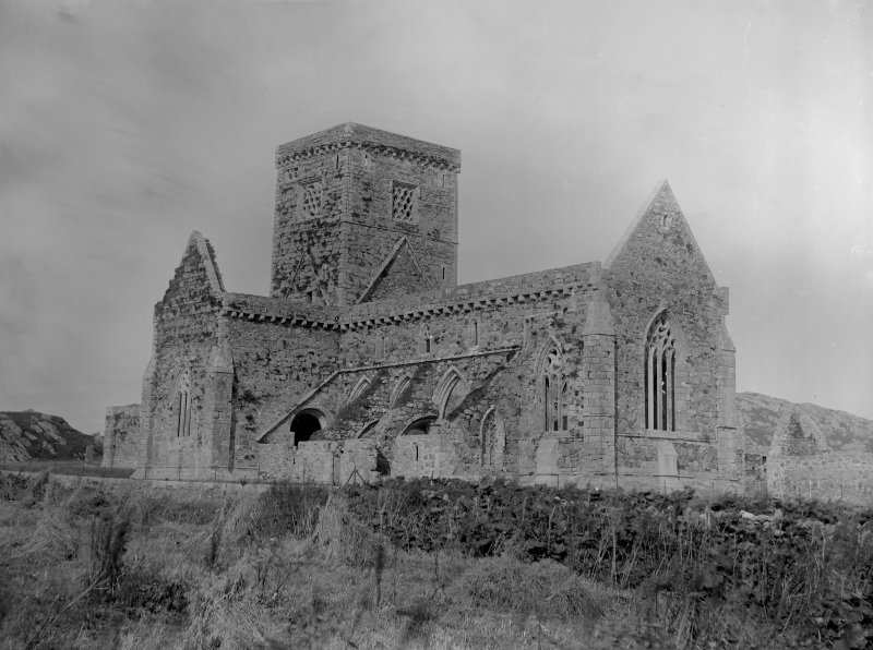View of Iona Abbey from the South-East.
