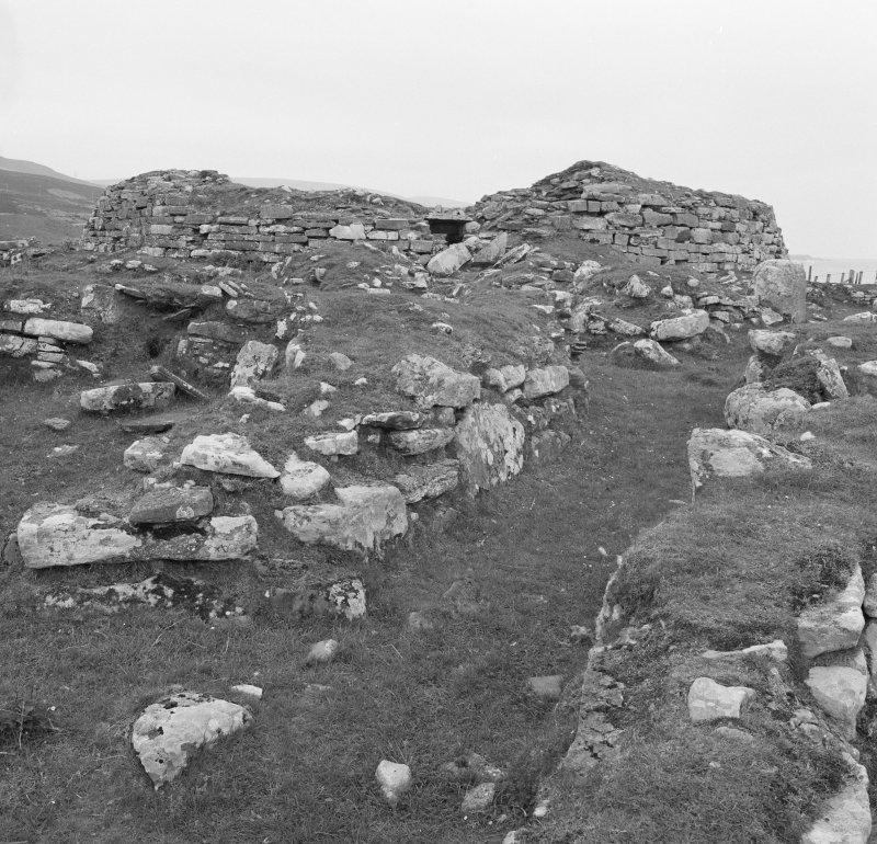View of Kintradwell broch.