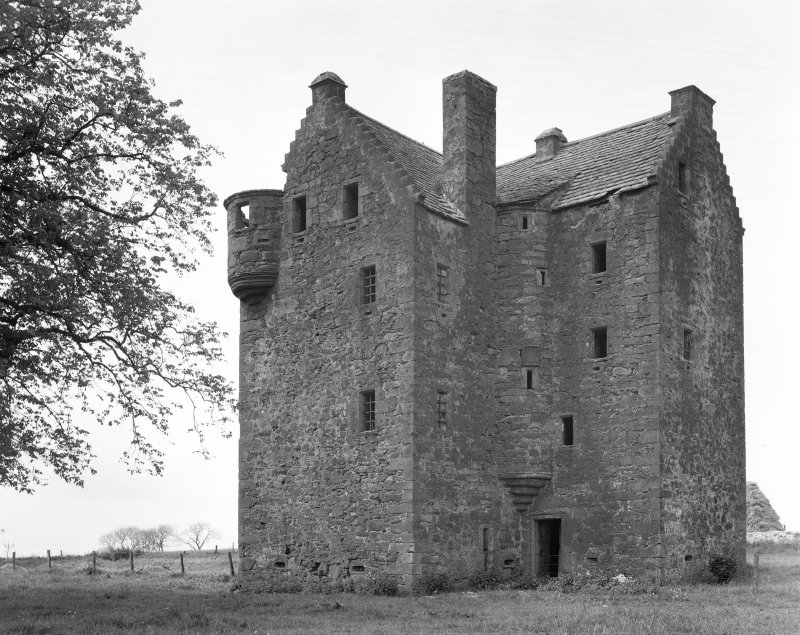 Braikie Castle. General view from E.