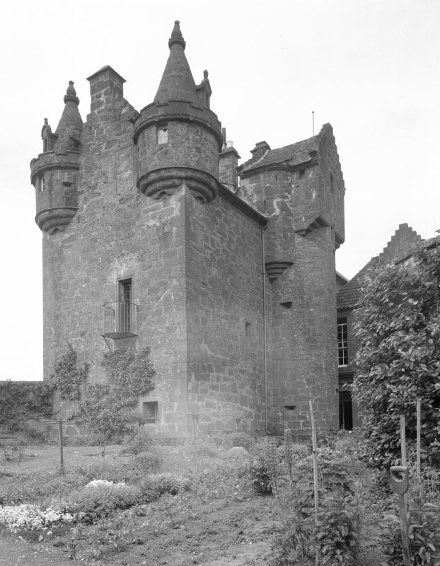 Gardyne Castle. View from E.