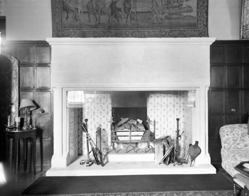 View of Drawing Room fireplace