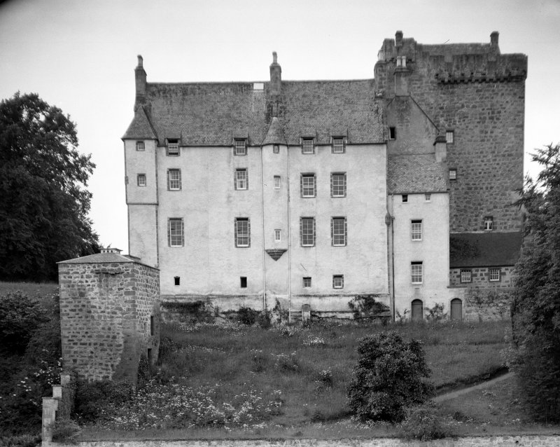 Kilravock Castle. General view from E.