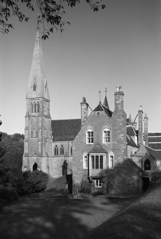 View of the Cathedral of the Isles, Millport.