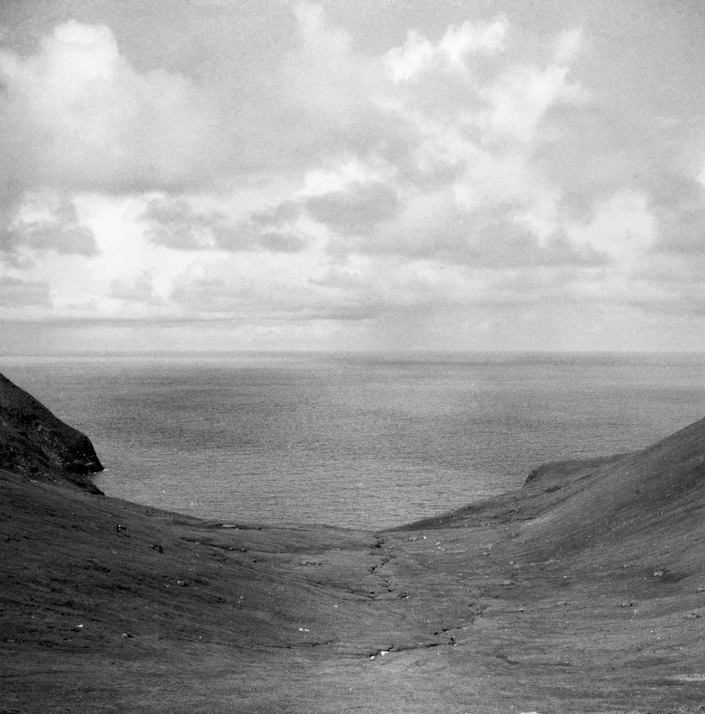 A general view of Gleann Mor, St Kilda.