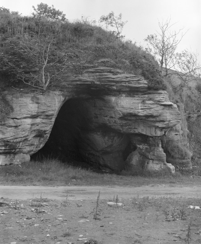 View of entrance to Dovecot Cave