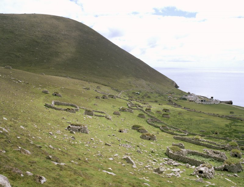 St Kilda, Village Bay. General view facing south east.