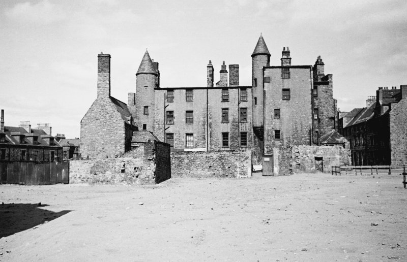 Aberdeen, Broad Street, Provost Skene's House. General view from South.