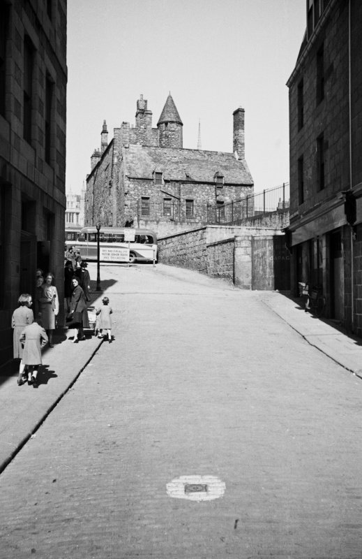 Aberdeen, Broad Street, Provost Skene's House. General view from West.