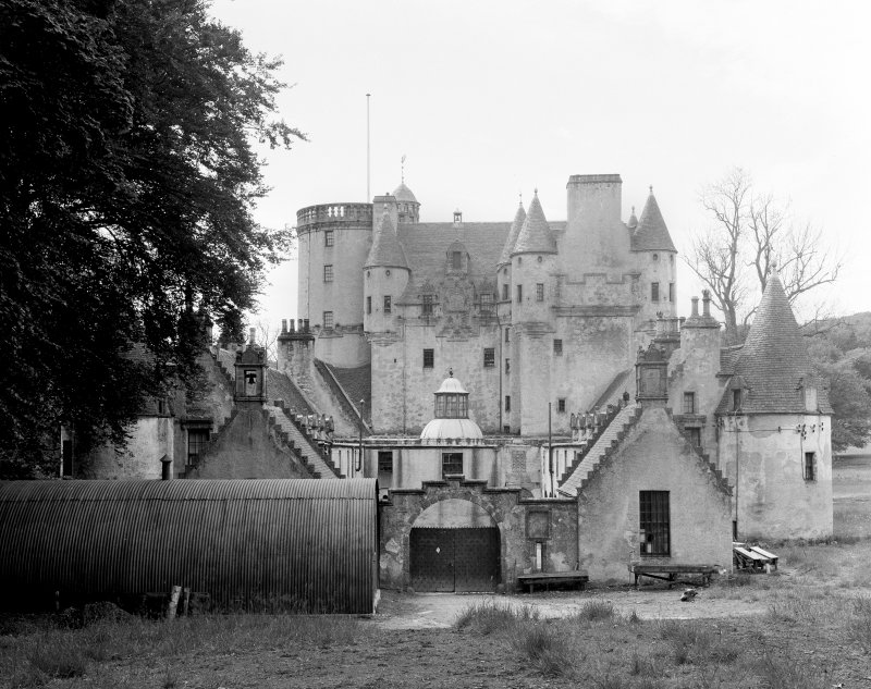 Castle Fraser. View from N.