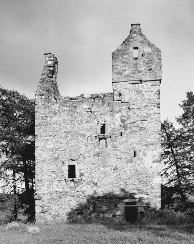 Knock Castle. General view from NW.