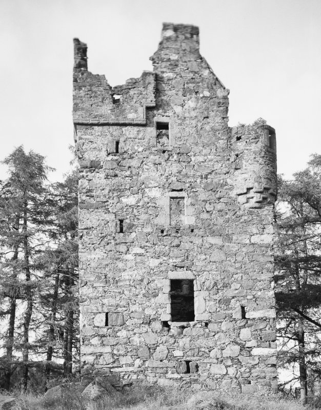 Knock Castle. General view from SW.