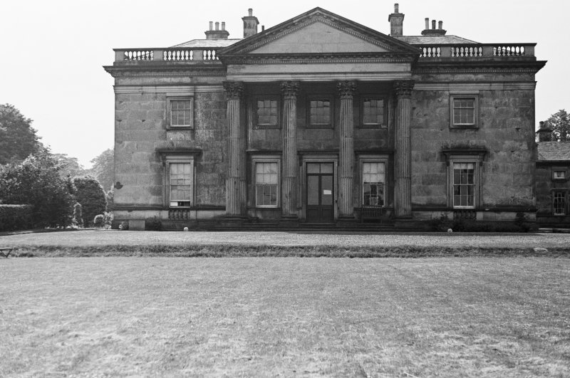 Duddingston House. View of East front