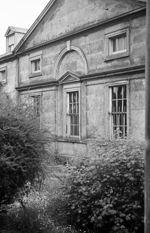 Duddingston House, stable block View of North front