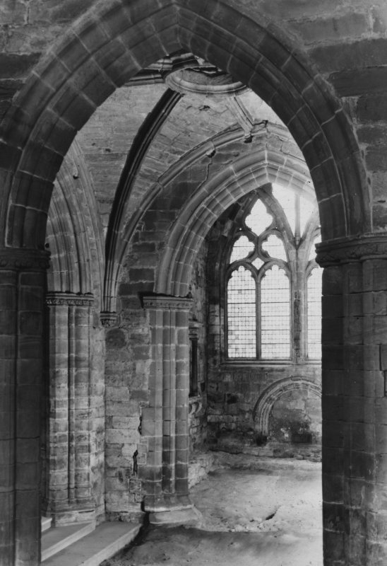View from North of transept.
