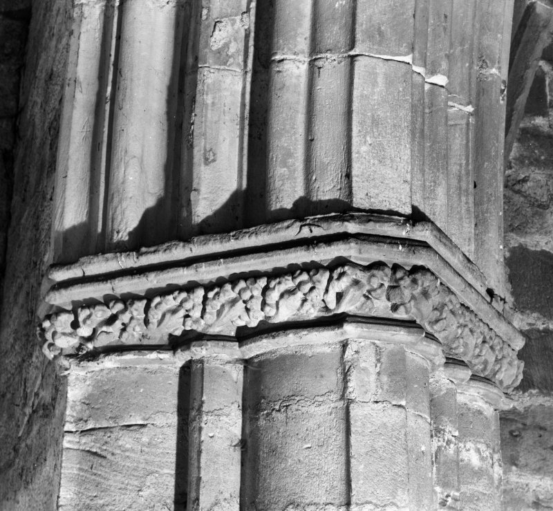 Detail of capital moulding.