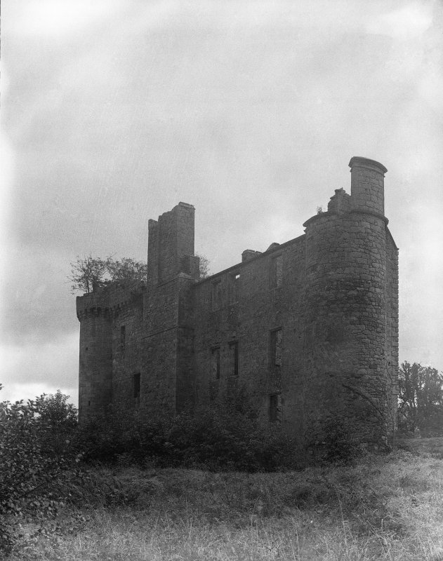 Dalquharran Castle. General view from N.