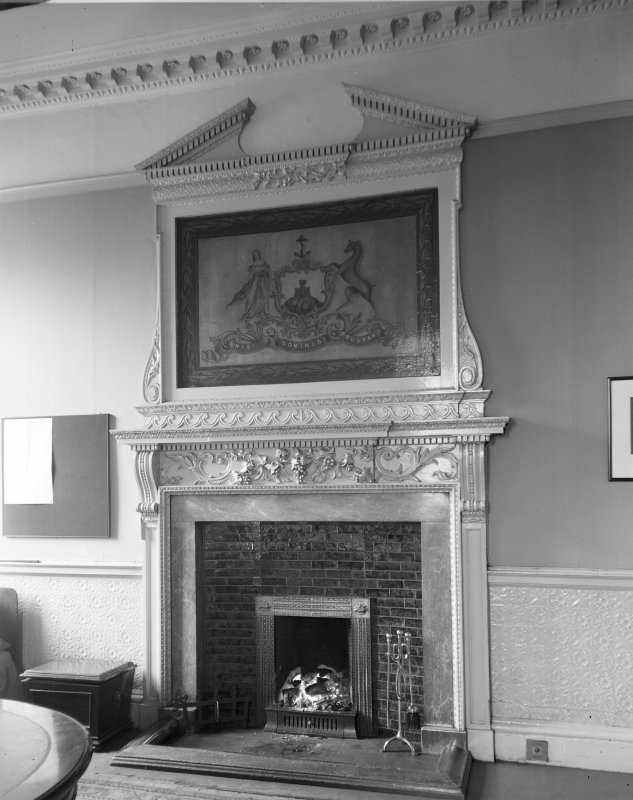 Edinburgh City Chambers. Fireplace in City Architect's Office