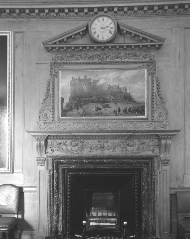 Edinburgh City Chambers. Fireplace in Old Council Chamber