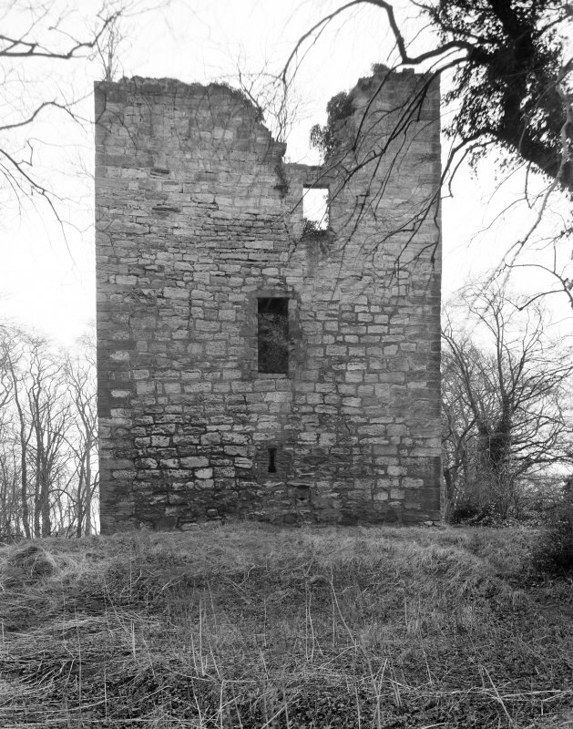 Cathcart Castle, from north west.