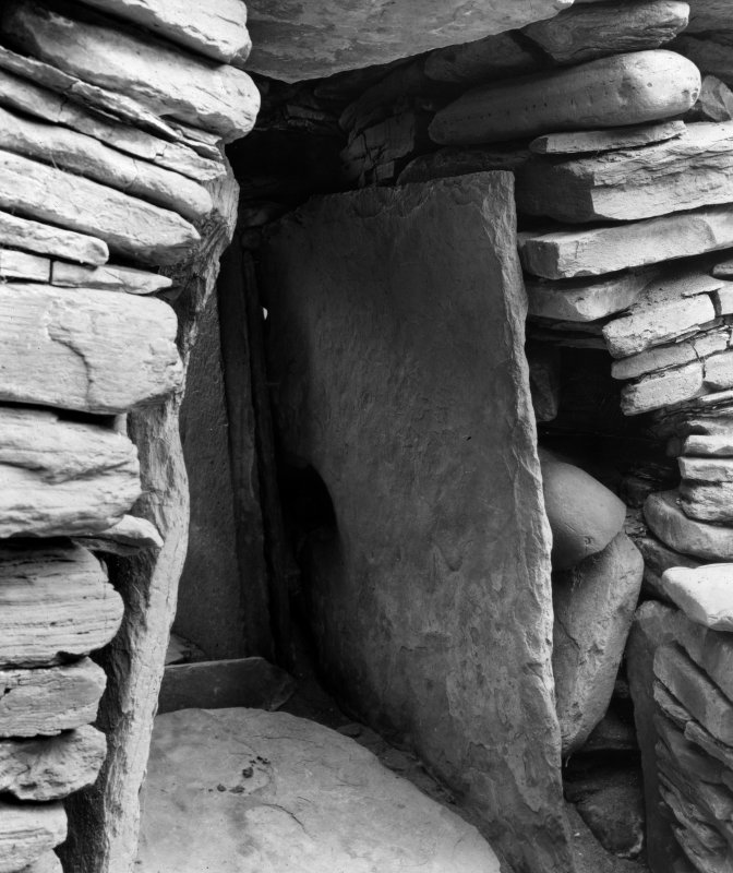 Skara Brae, View of doorway.
