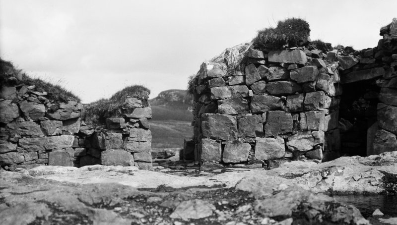 Broch, Dun Beag, Struanmore, Skye. The entrance.