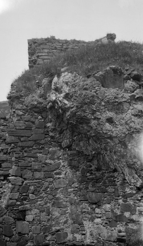Brochel Castle, Raasay. NE face.