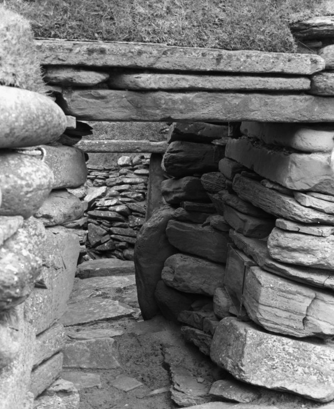 View of passage, Skara Brae.