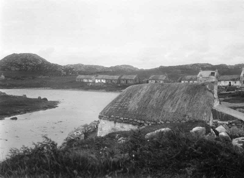 Mull, Ross of Mull, Kintra, village. General view.