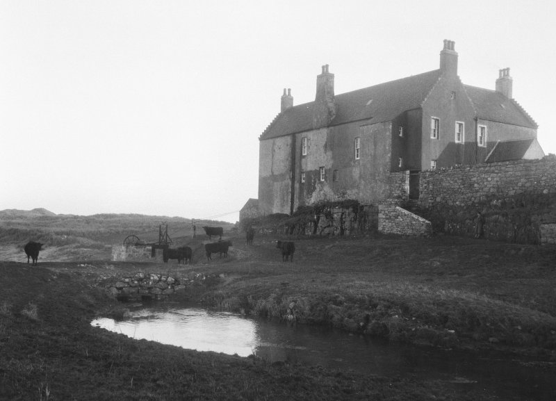 View of Balnakeil House.