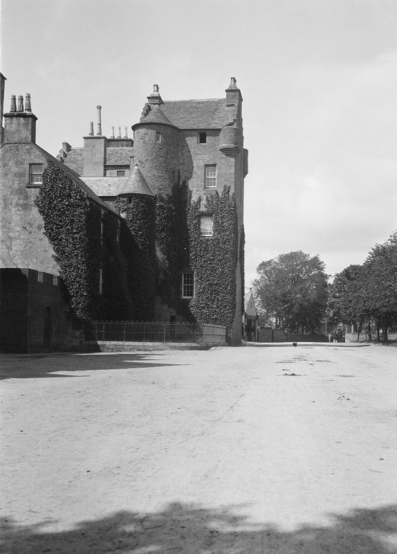 View of Bishop's Palace, Dornoch, from East.