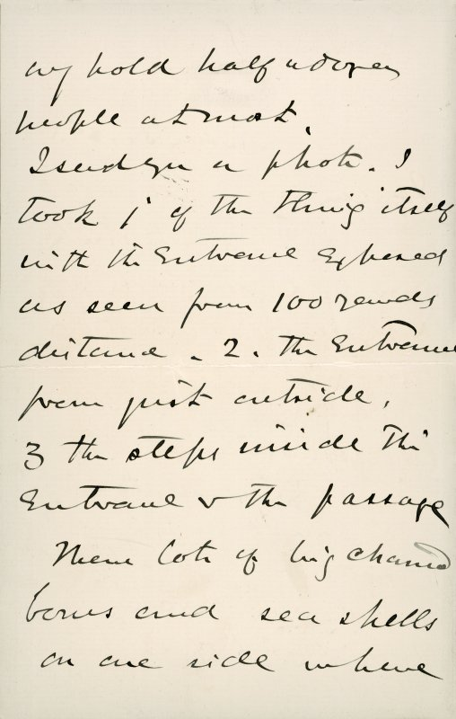 Extract from letter by Sir John Kirk to David Christison, 5 Jan 1893. Page 2 of 4.