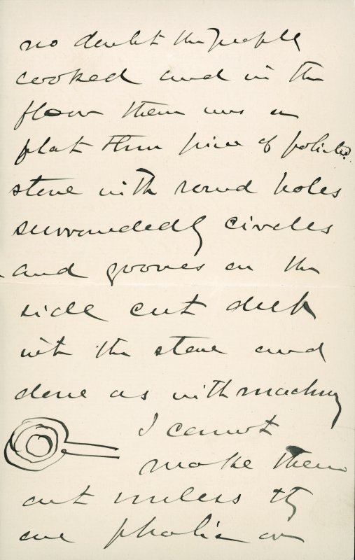 Extract from letter by Sir John Kirk to David Christison, 5 Jan 1893. Page 3 of 4.