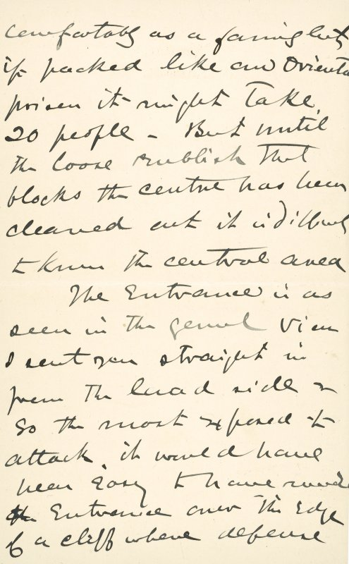 Extract from letter by Sir John Kirk to David Christison. 14 Jan 1893. Page 2 of 12.