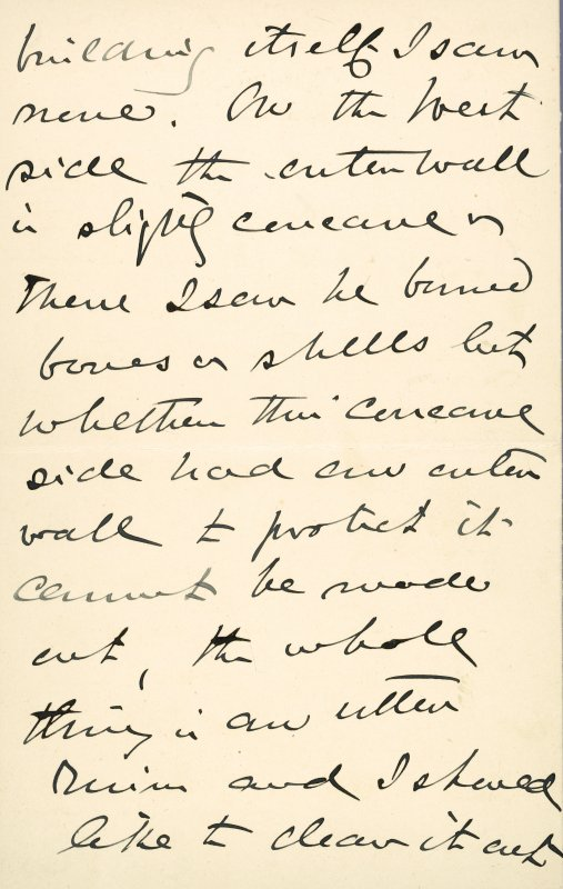 Extract from letter by Sir John Kirk to David Christison. 14 Jan 1893. Page 4 of 12.