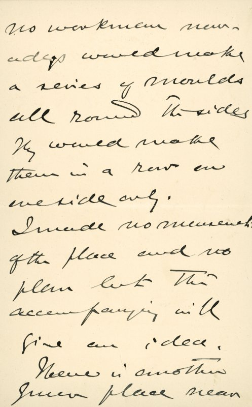 Extract from letter by Sir John Kirk to David Christison. 14 Jan 1893. Page 6 of 12.