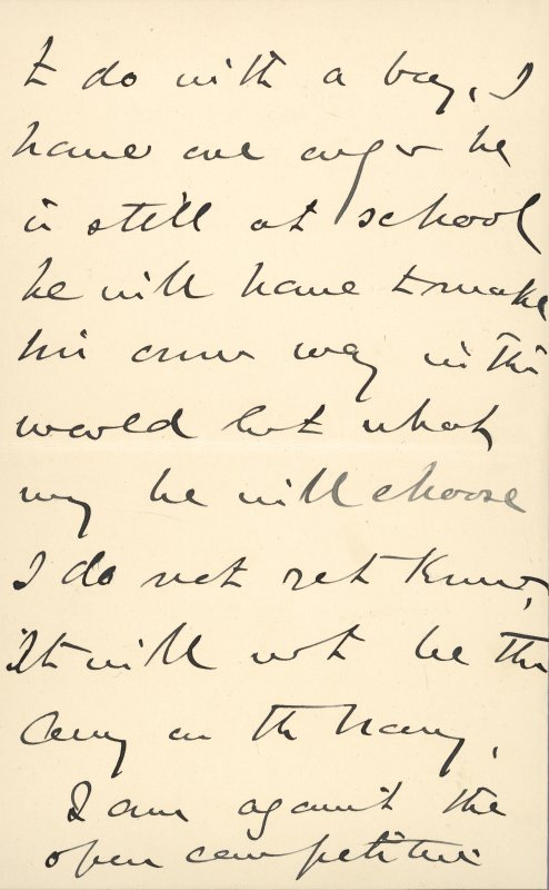 Extract from letter by Sir John Kirk to David Christison. 14 Jan 1893. Page 10 of 12.