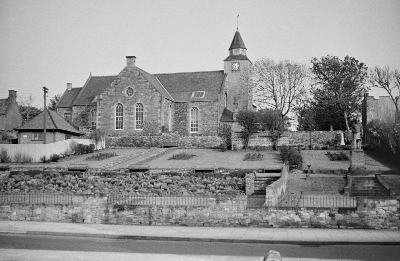 View of Prestongrange Parish Church, Prestonpans, from N.
