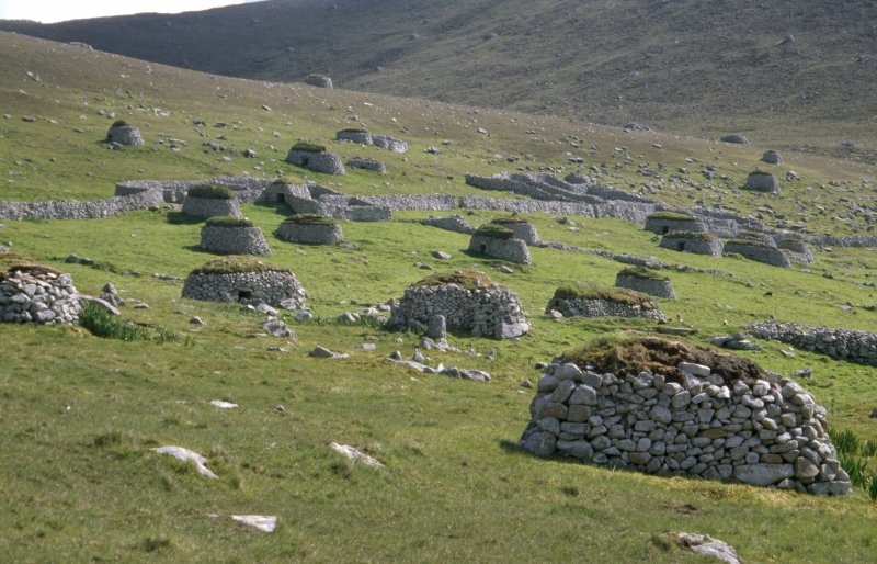 Cleits above the village, Hirta, St kilda