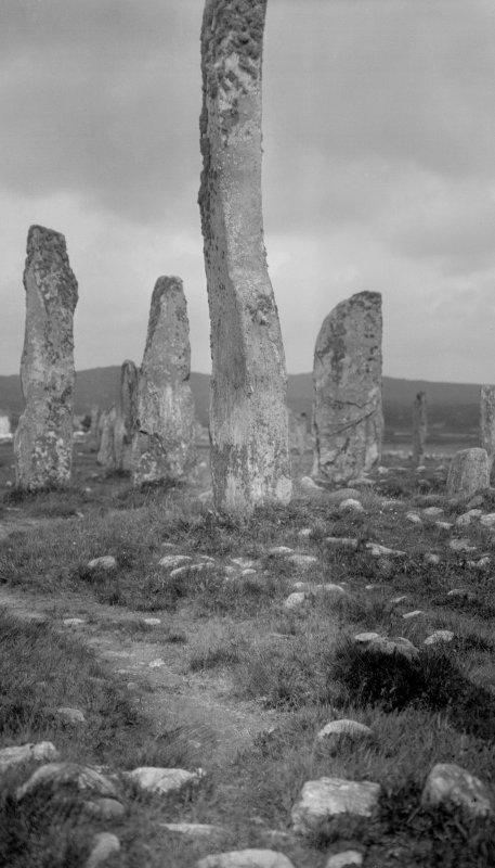 Callanish, central pillar from south.