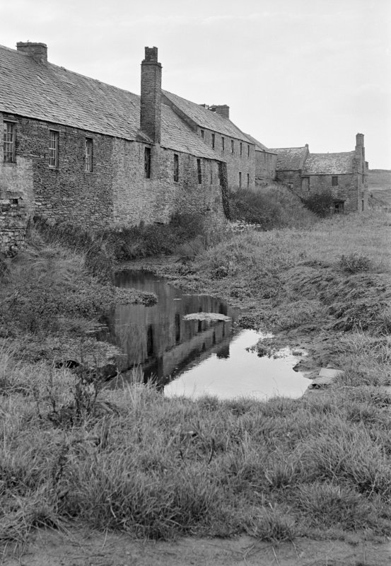 View of Millbank meal mill and foundry, Thurso, from north.